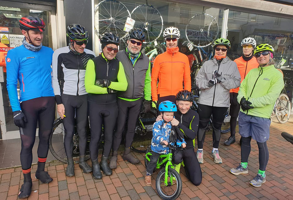 Monthly Shop Rides at Wildside Cycles Tunbridge Wells