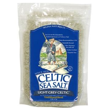 .5 lbs bag of Celtic Sea Salt Light Grey Salt