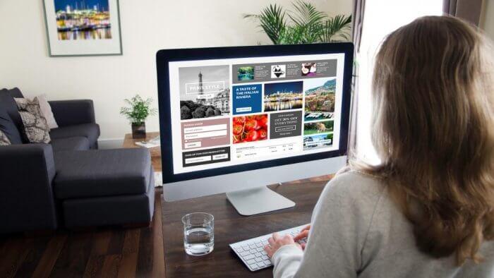 image of digital marketing being used