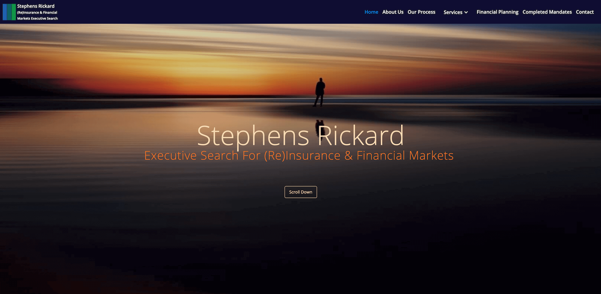 Executive Search Web Design