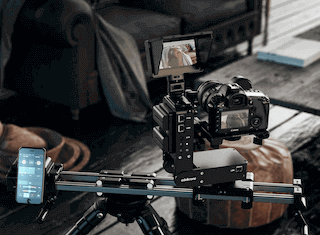 Edelkrone Sliders great for filming products