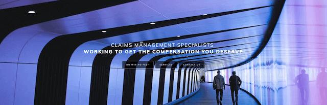 Claims Management Specialists Web Design