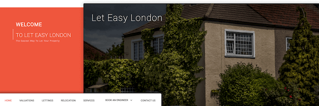 London Letting Agents Website