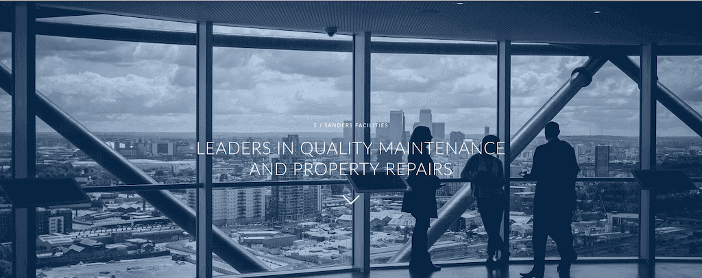 Maintenance & Property Repairs Website