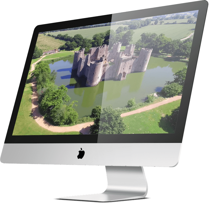 Image of Bodiam Castle in Sussex