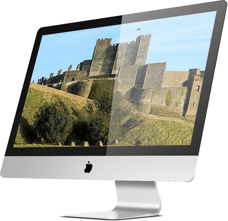 Image of Dover Castle in Kent