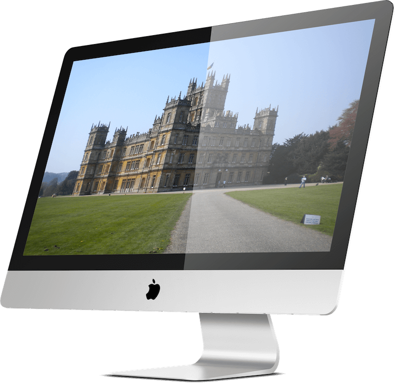 Image of Highclere Castle (Downton Abbey) in Berkshire