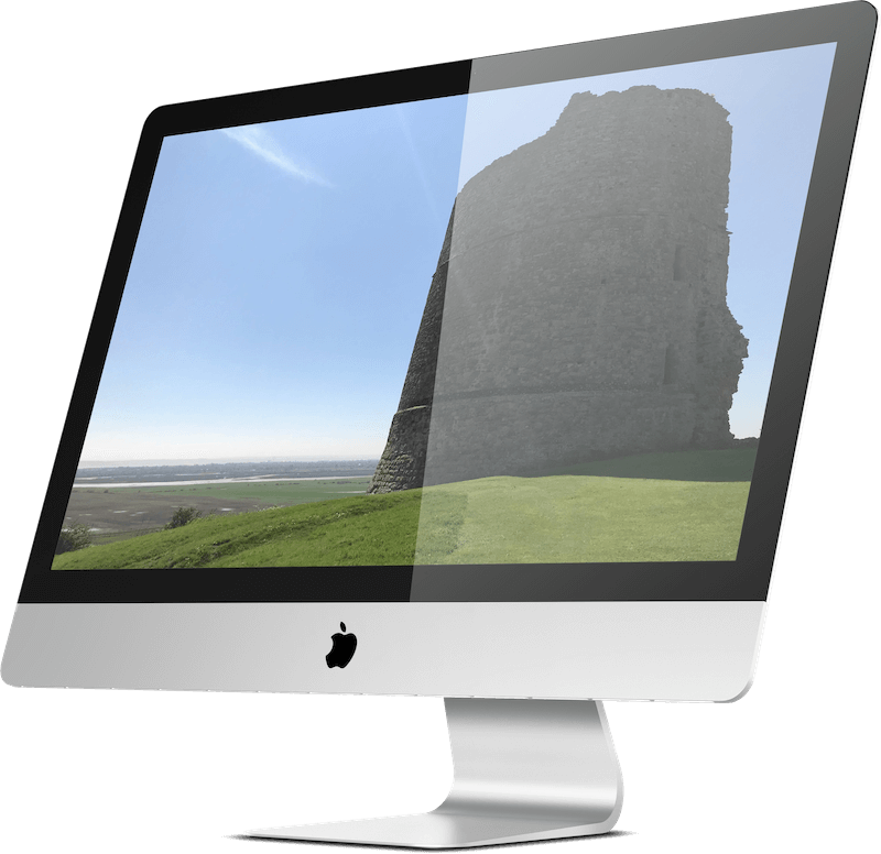 Image of Hadleigh Castle in Essex