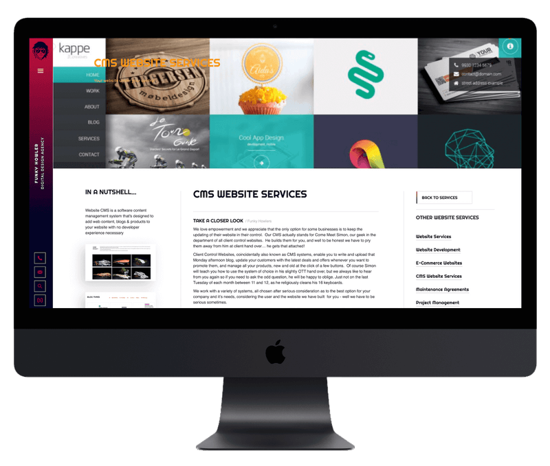 CMS Designed Websites for your business