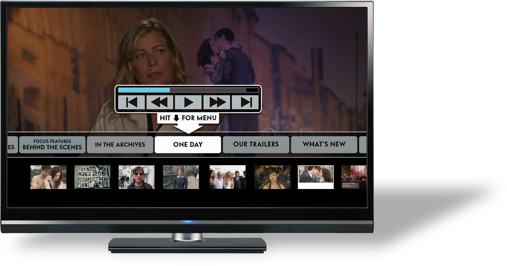 Screenshot of Google TV App