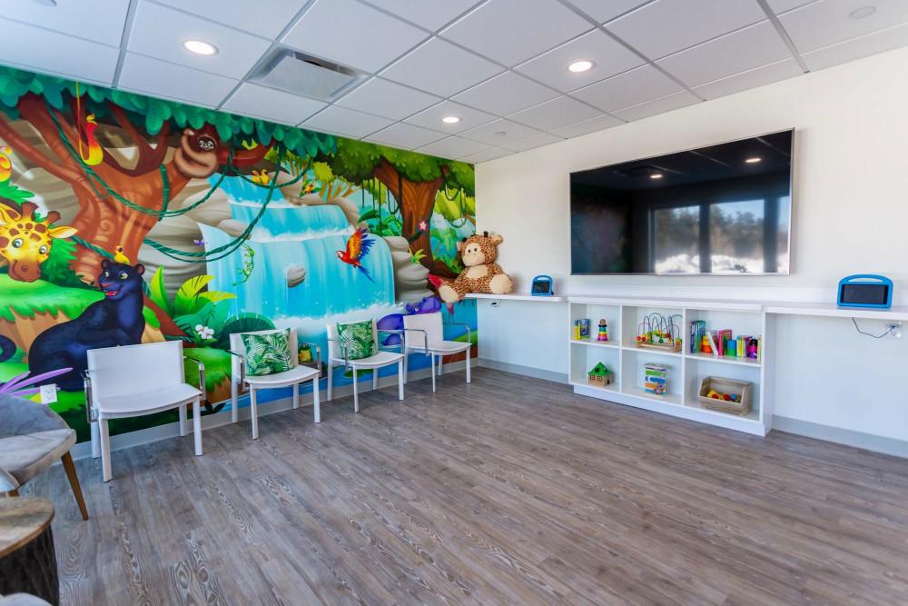 Marshfield Pediatric Dentistry waiting room
