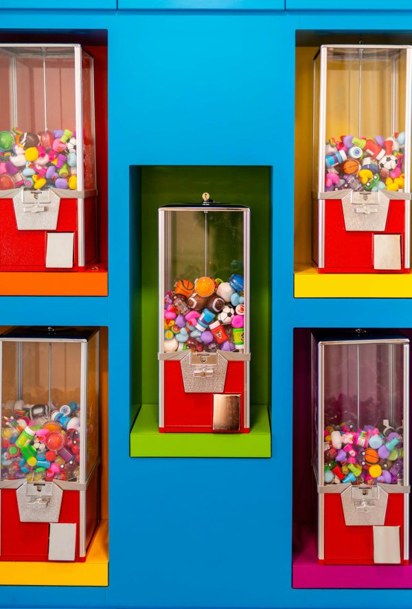 Toy and candy dispensers