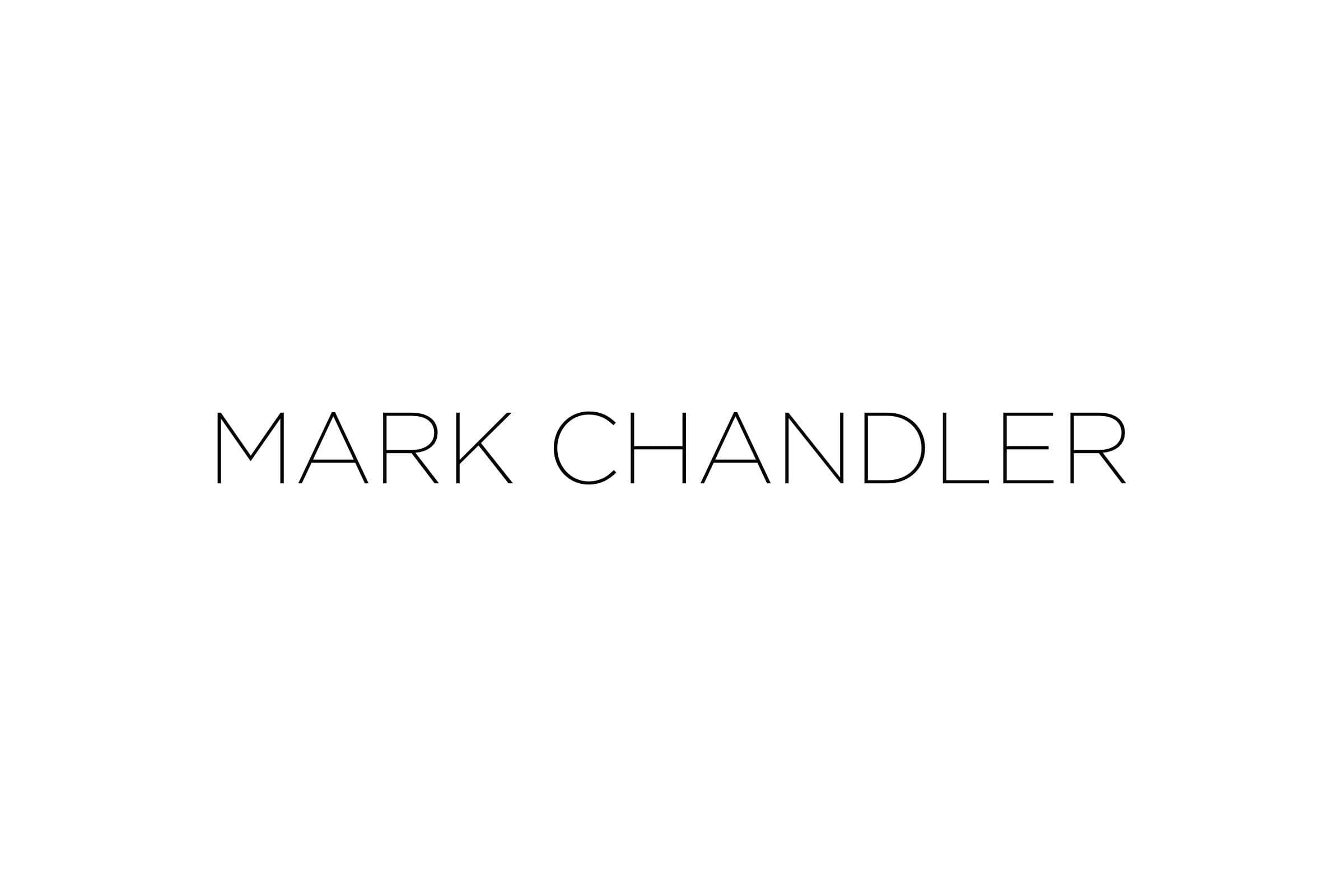 Mark Chandler's wordmark.