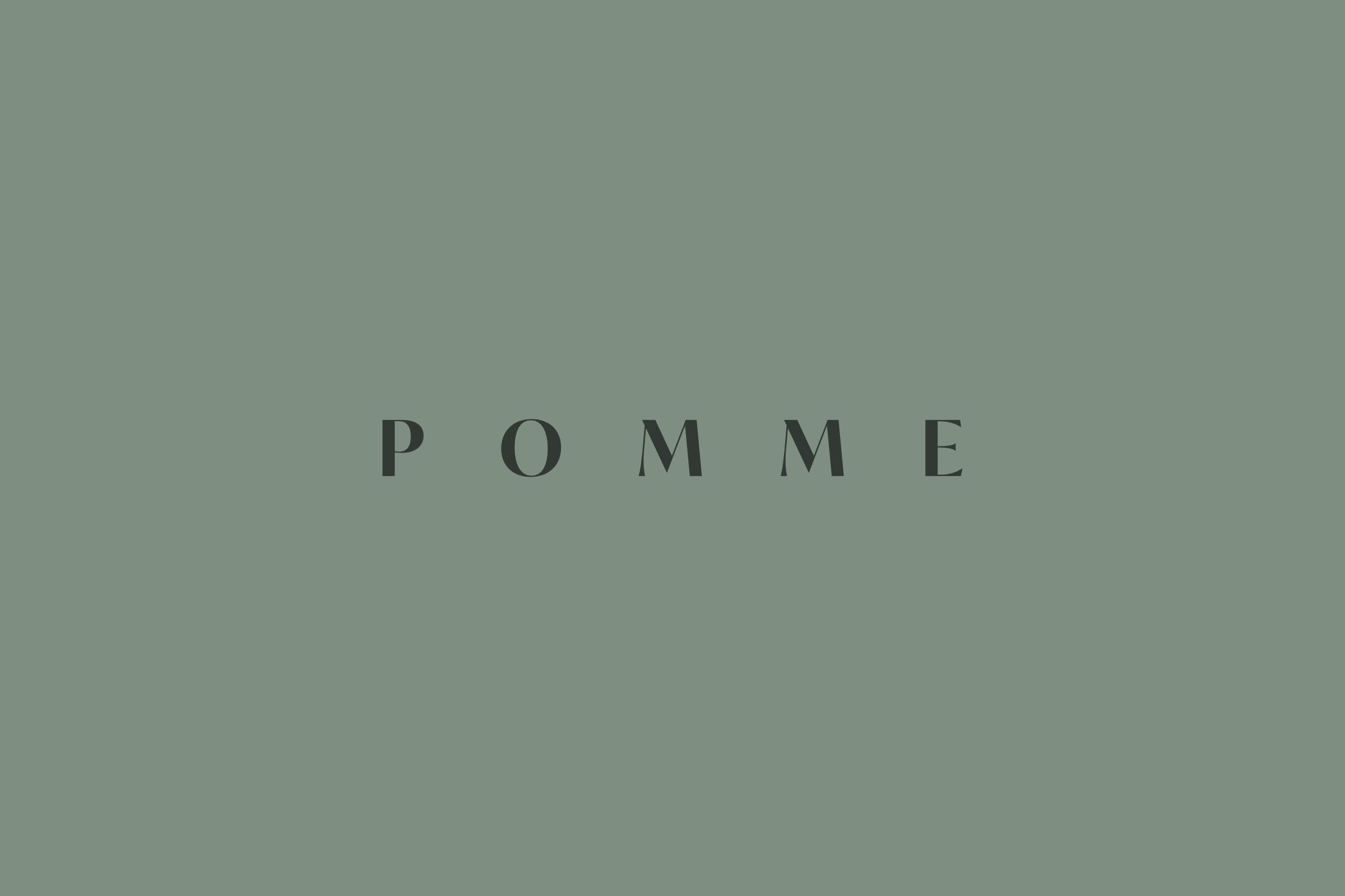 Pomme logo.