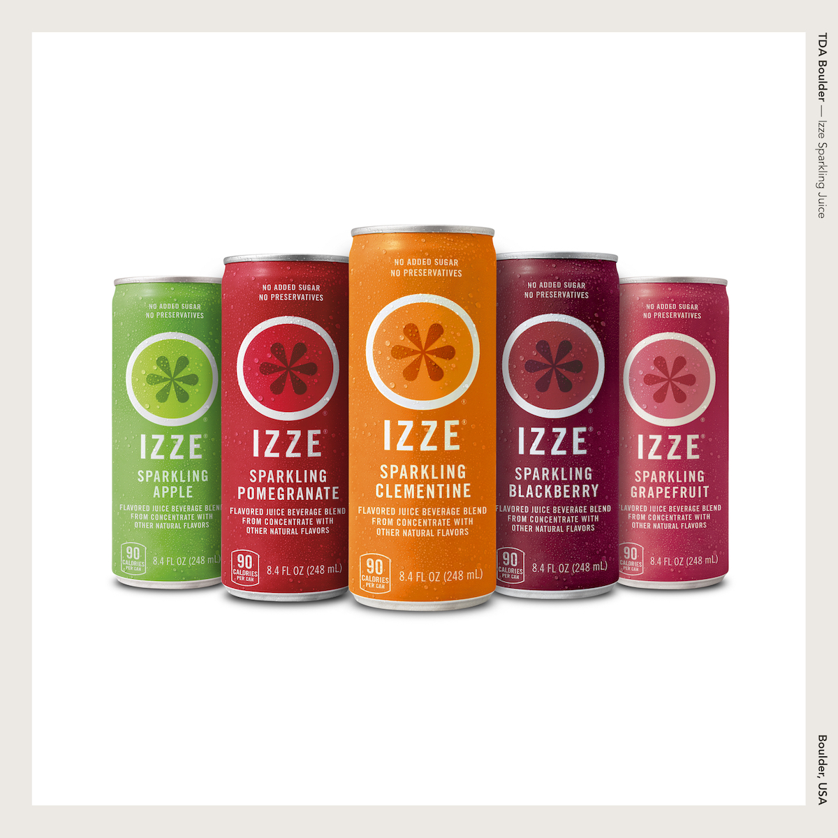 TDA Boulder — Izze Sparkling Juice