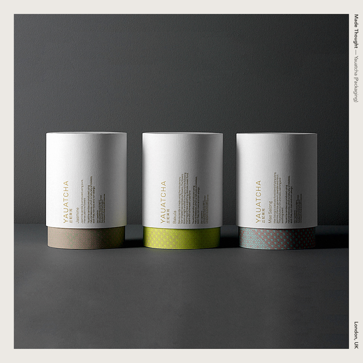 Made Thought — Yauatcha (Packaging)
