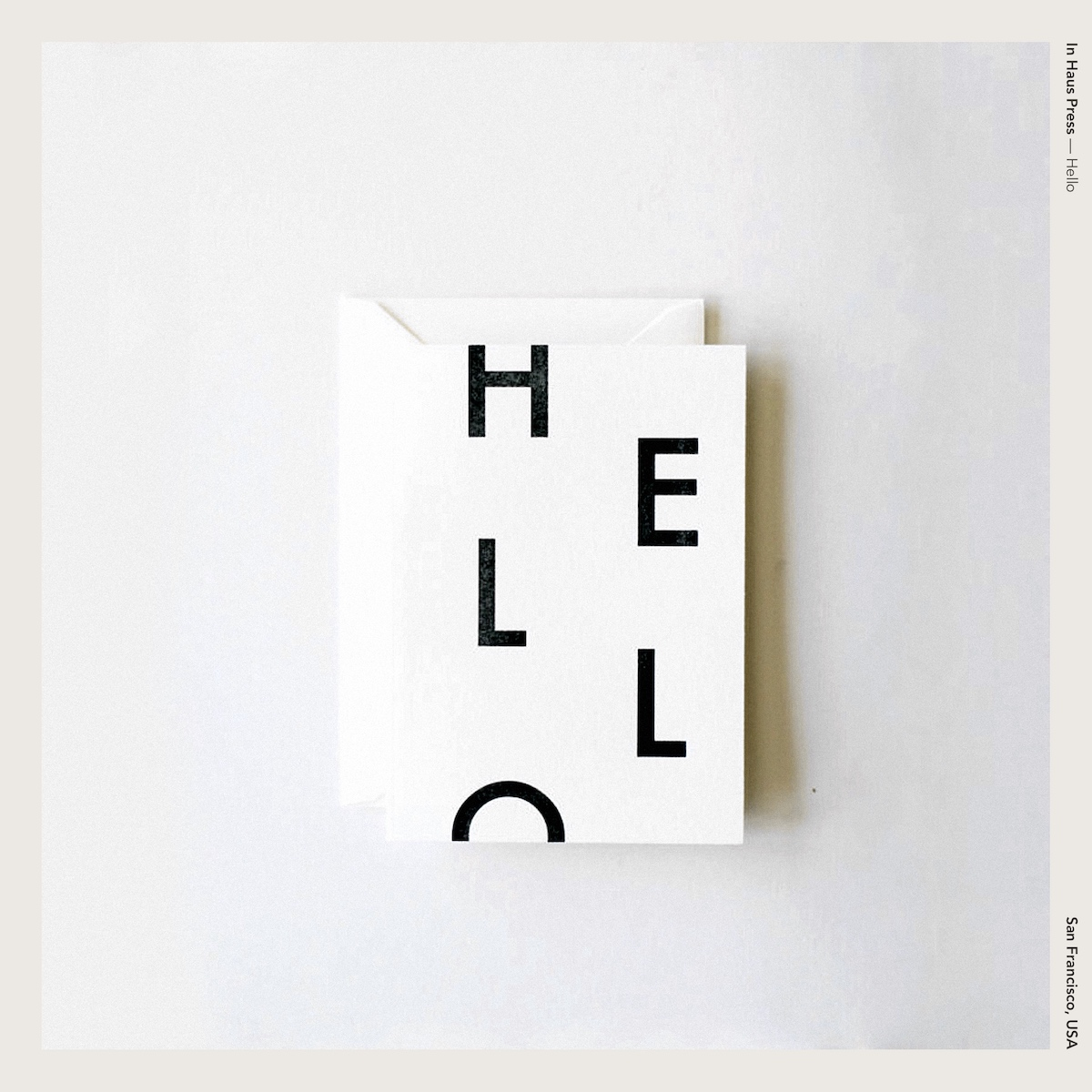 In Haus Press — Hello