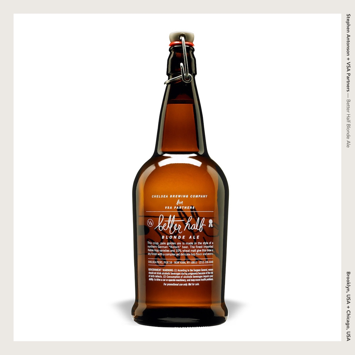 Stephen Antonson + VSA Partners — Better Half Blonde Ale