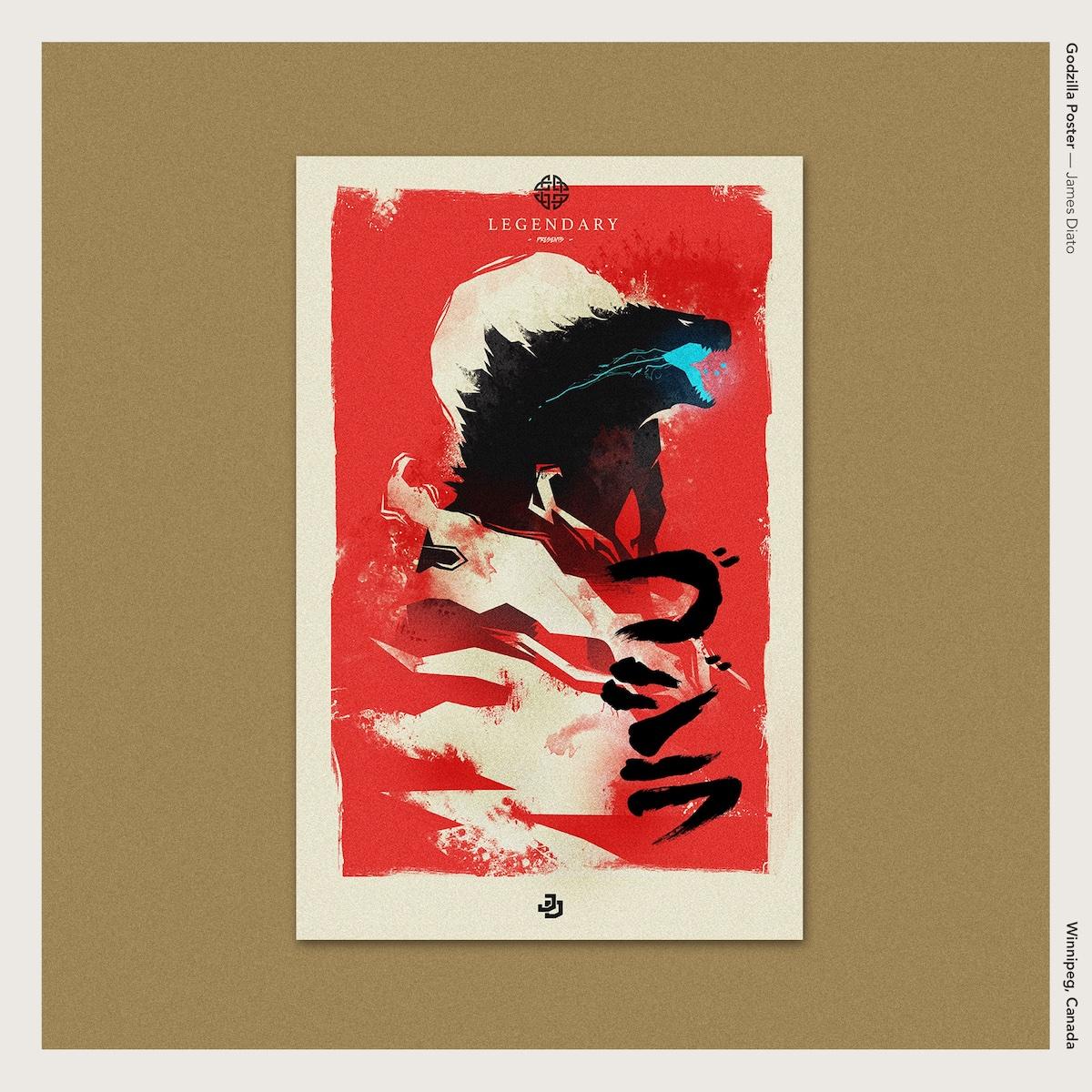 Godzilla Poster —James Diato