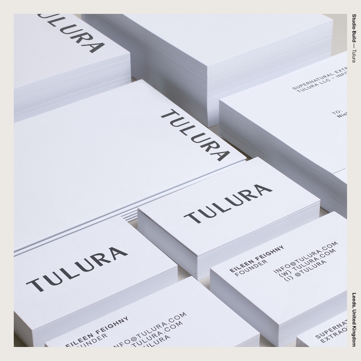 Studio Build — Tulura