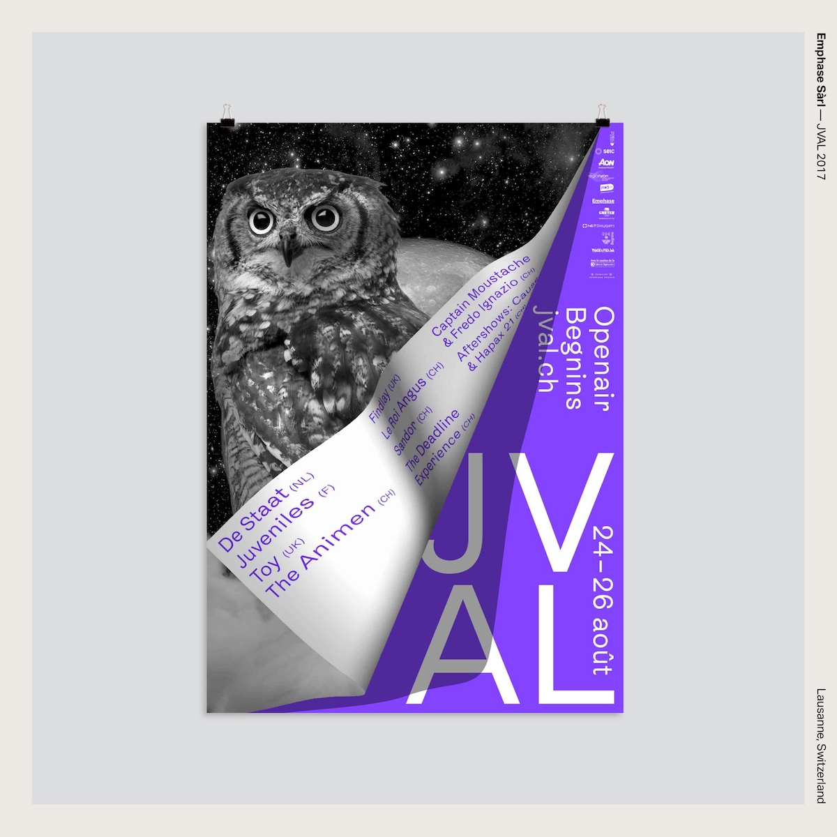 Emphase Sàrl — JVAL 2017
