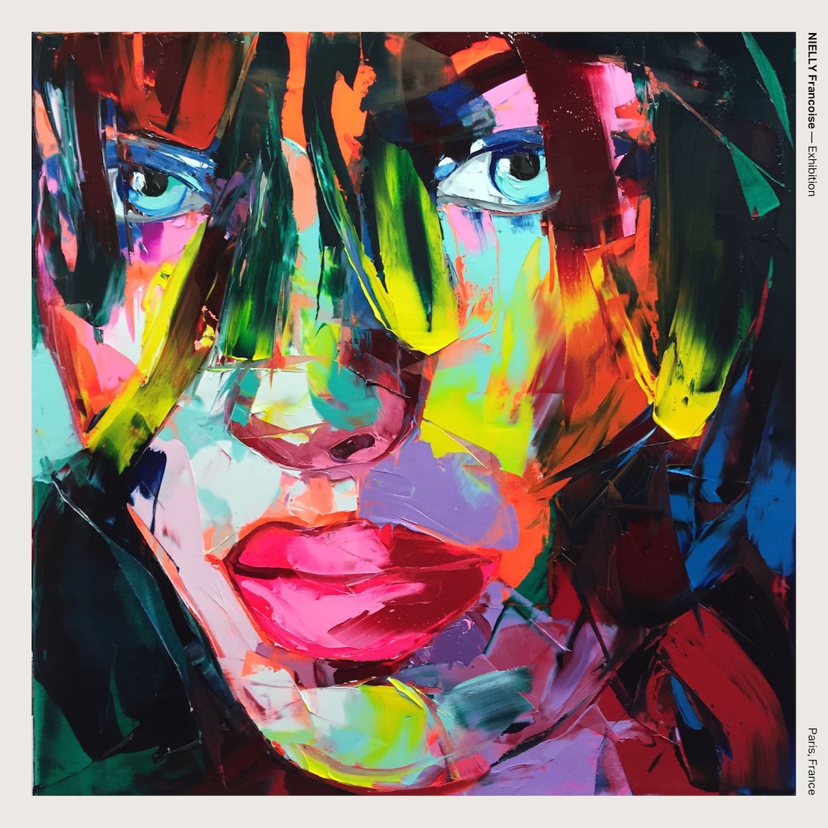 NIELLY Francoise — Exhibition