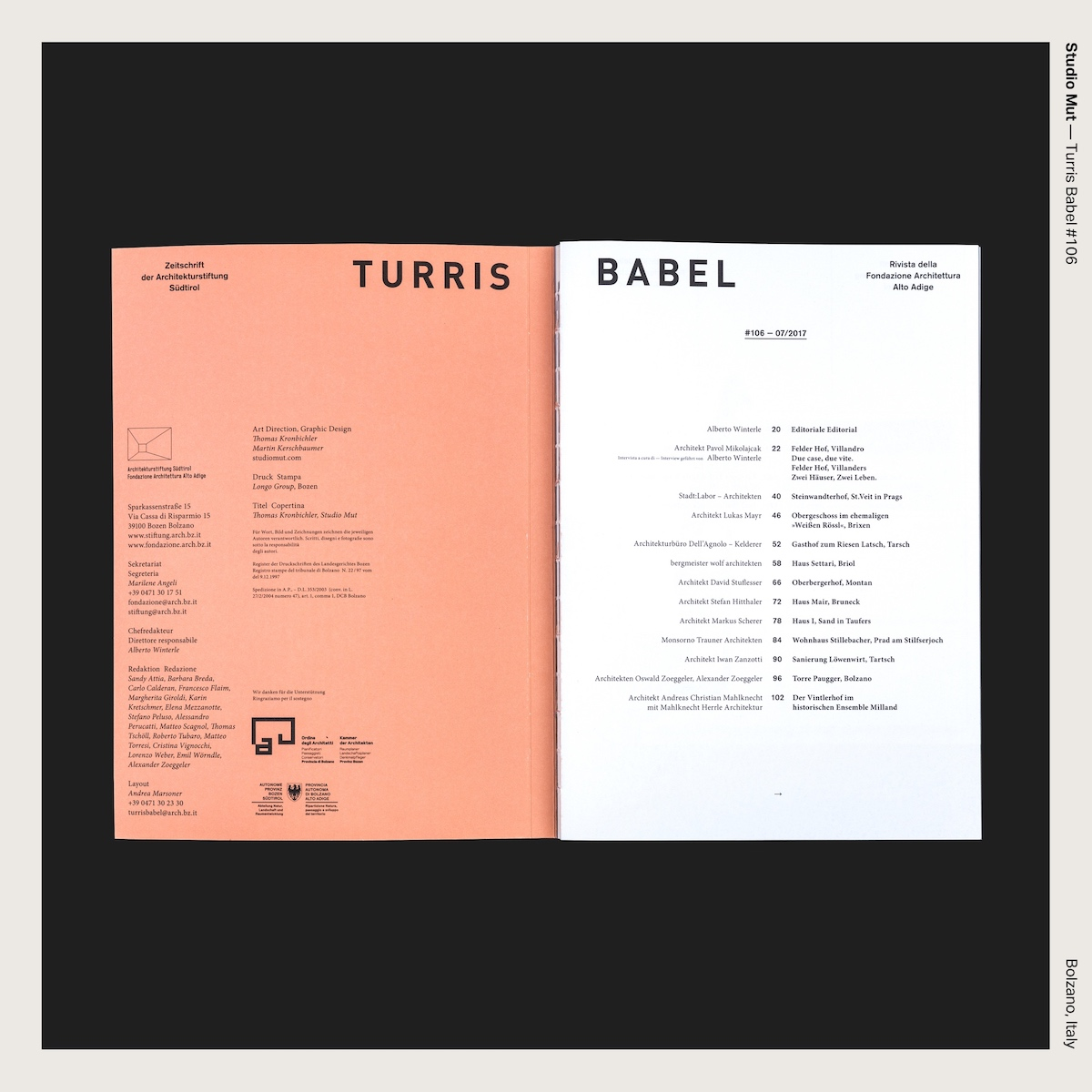 Studio Mut — Turris Babel #106