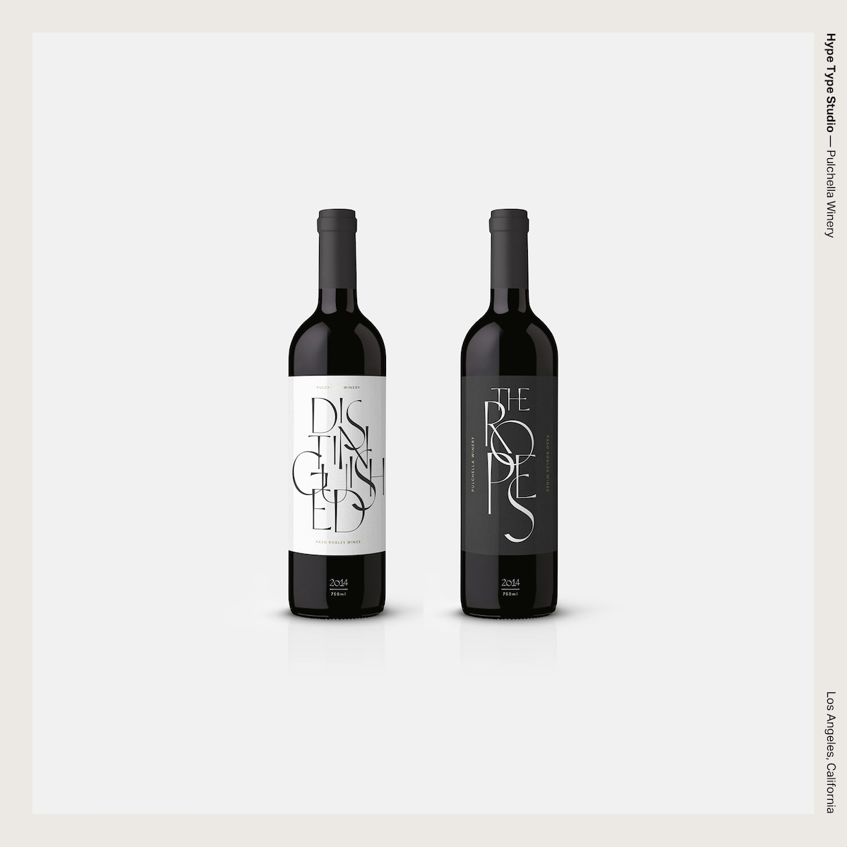 Hype Type Studio — Pulchella Winery