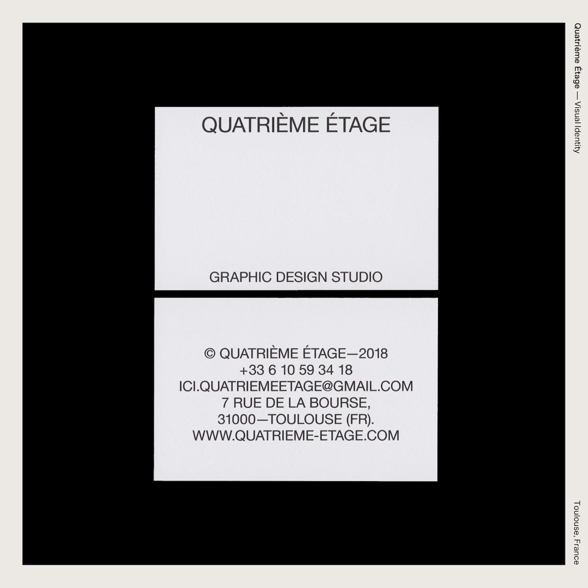 Quatrième Étage — Visual Identity