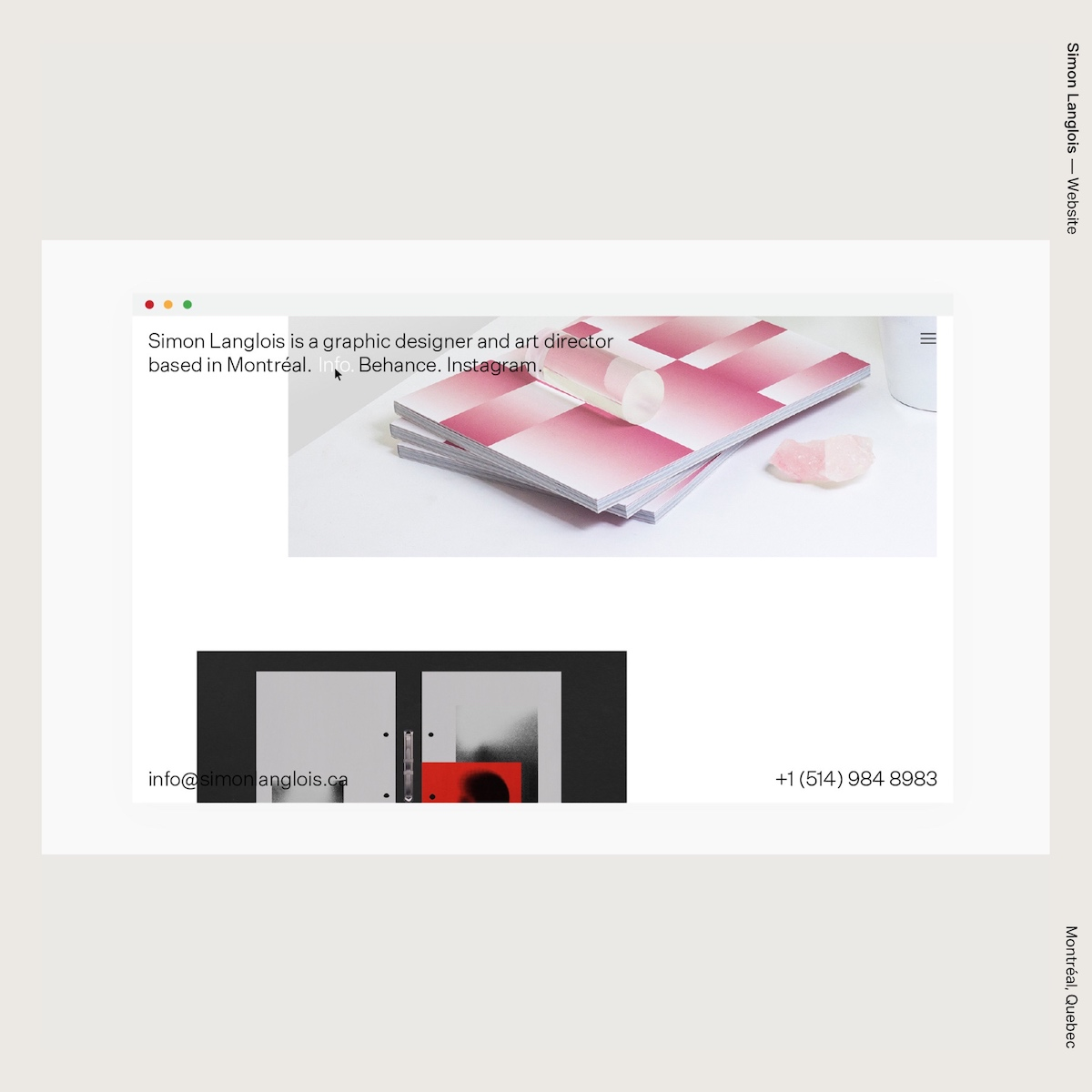 Simon Langlois — Website
