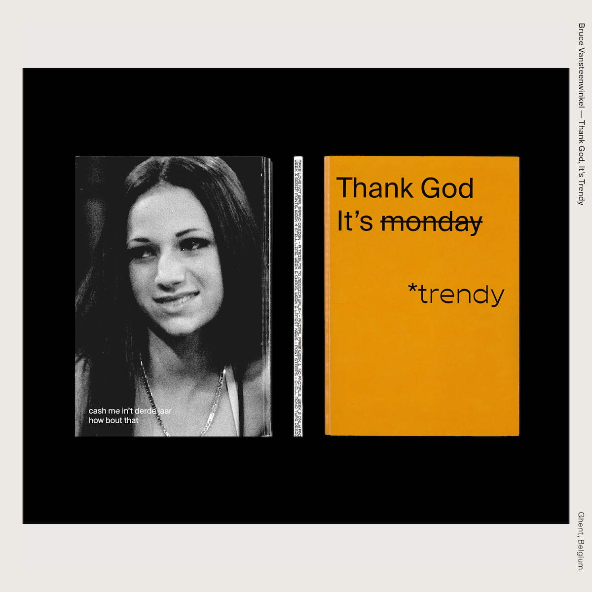 Bruce Vansteenwinkel — Thank God, It's Trendy