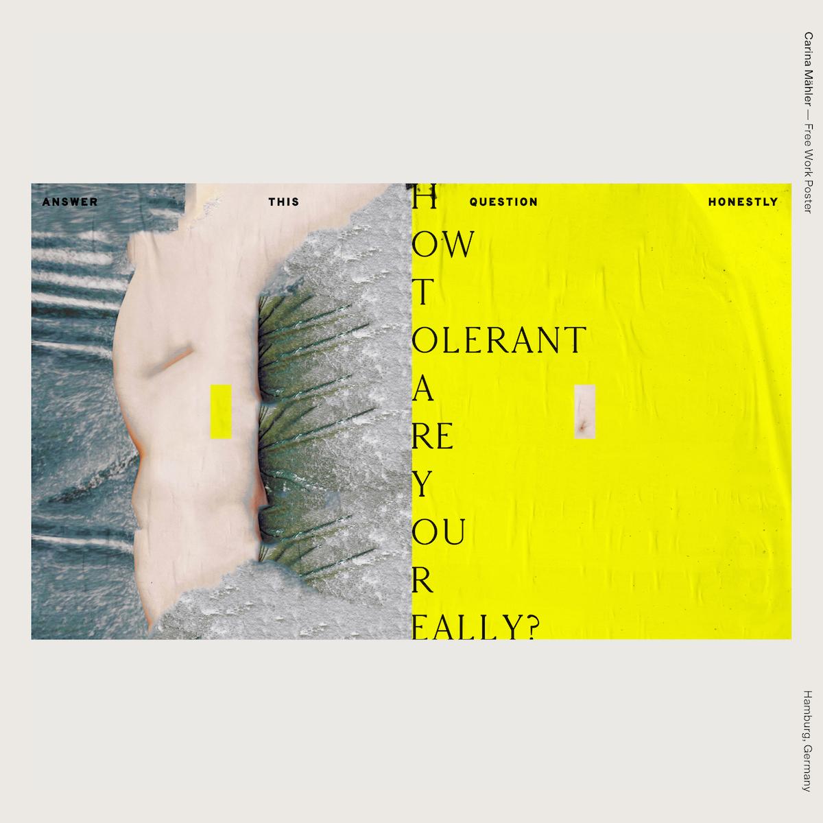 Carina Mähler — Free Work Poster