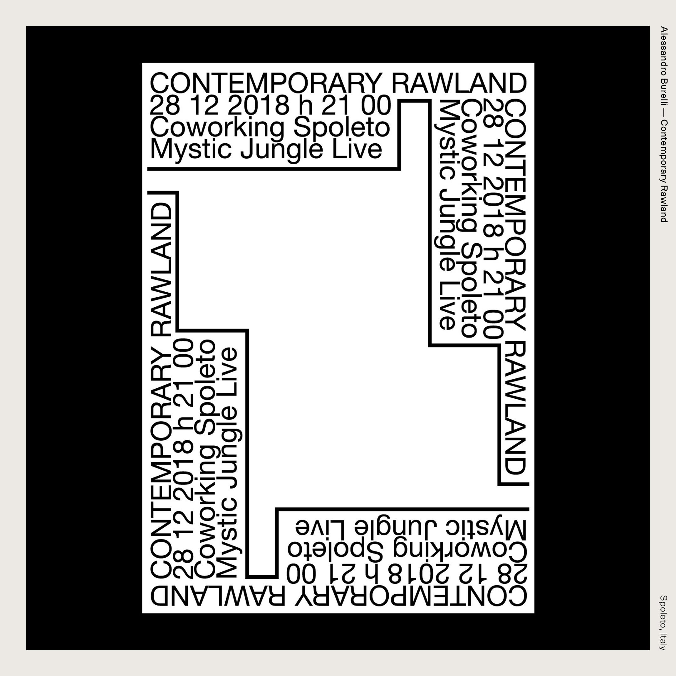 Alessandro Burelli — Contemporary Rawland