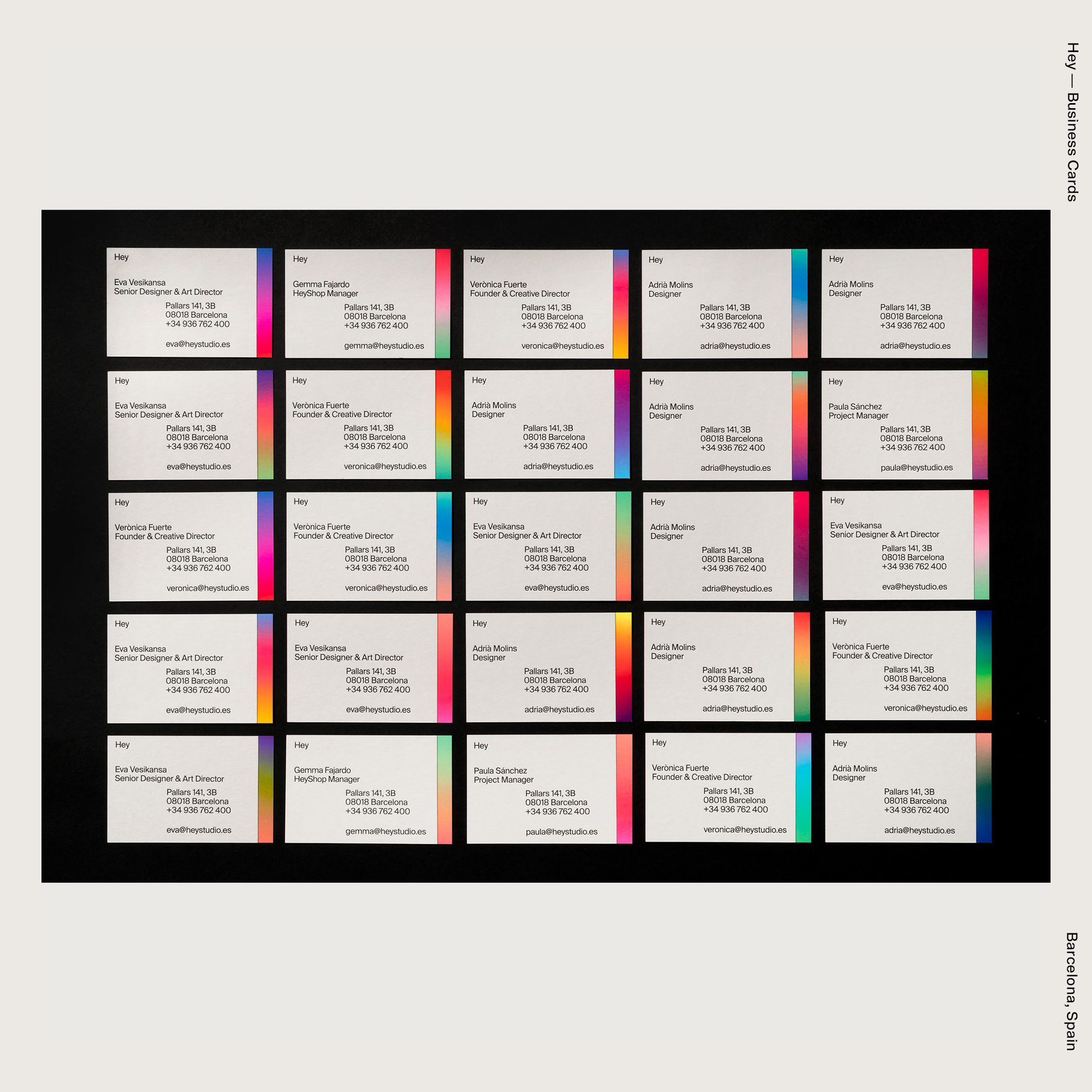 Hey —Business Cards