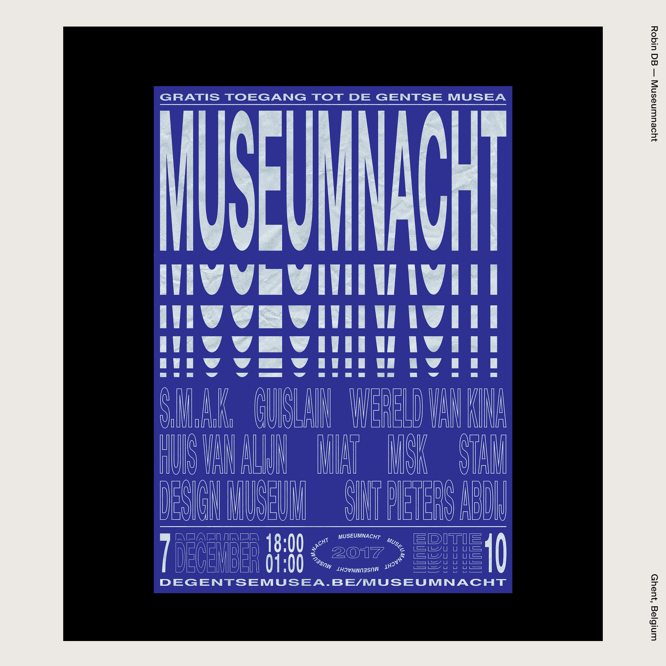 Robin DB —Museumnacht