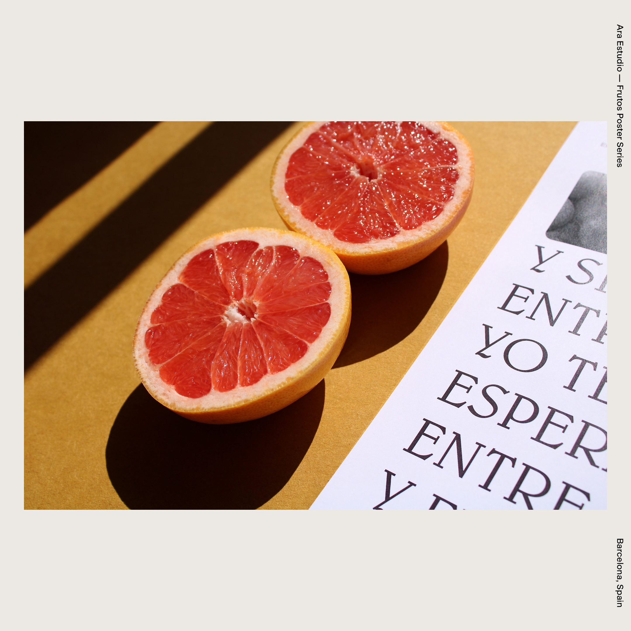 Ara Estudio — Frutos Poster Series