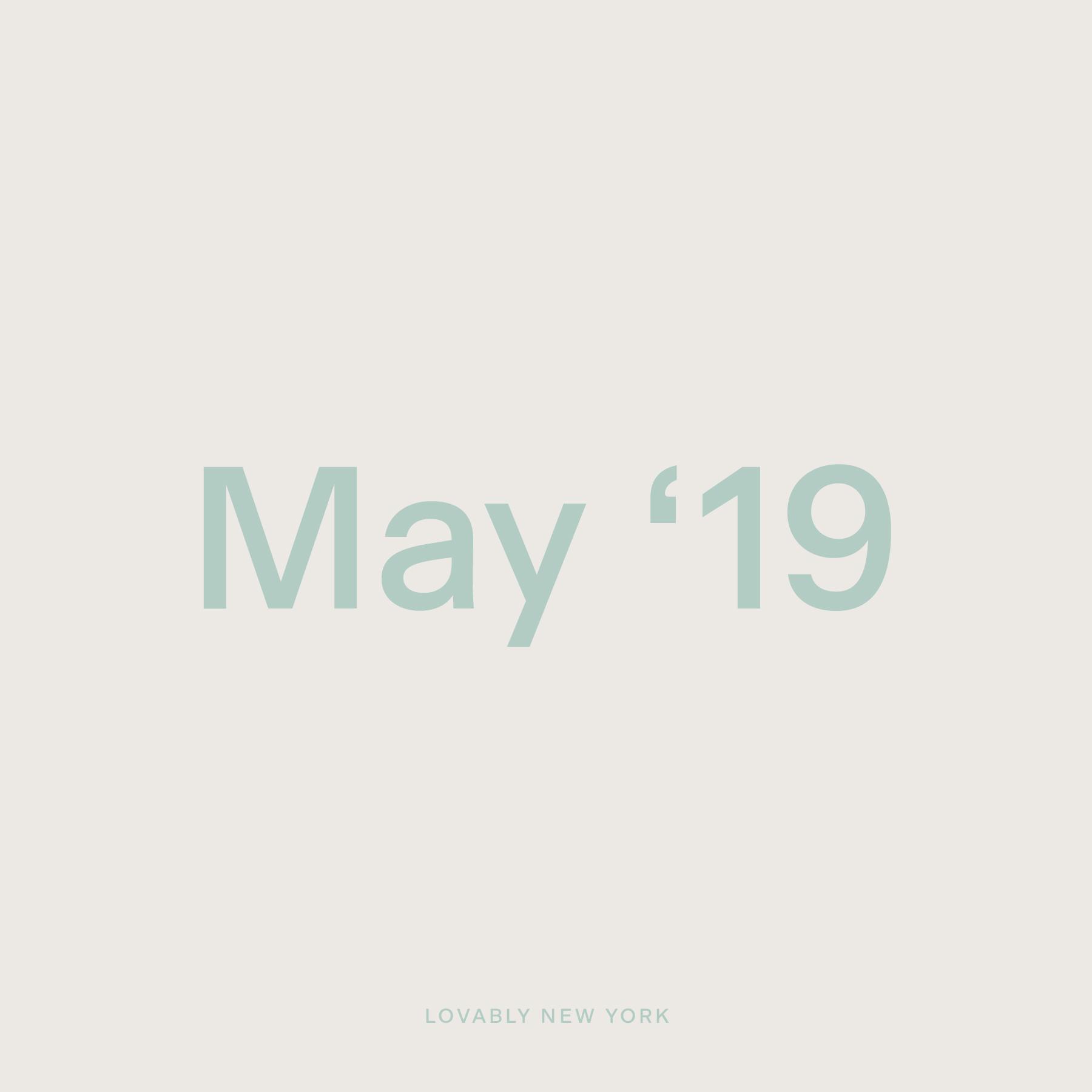 Studio Playlist — May '19