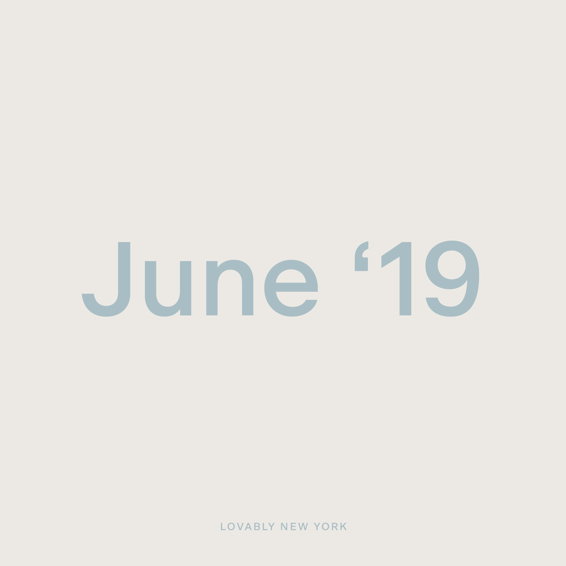 Studio Playlist — June '19