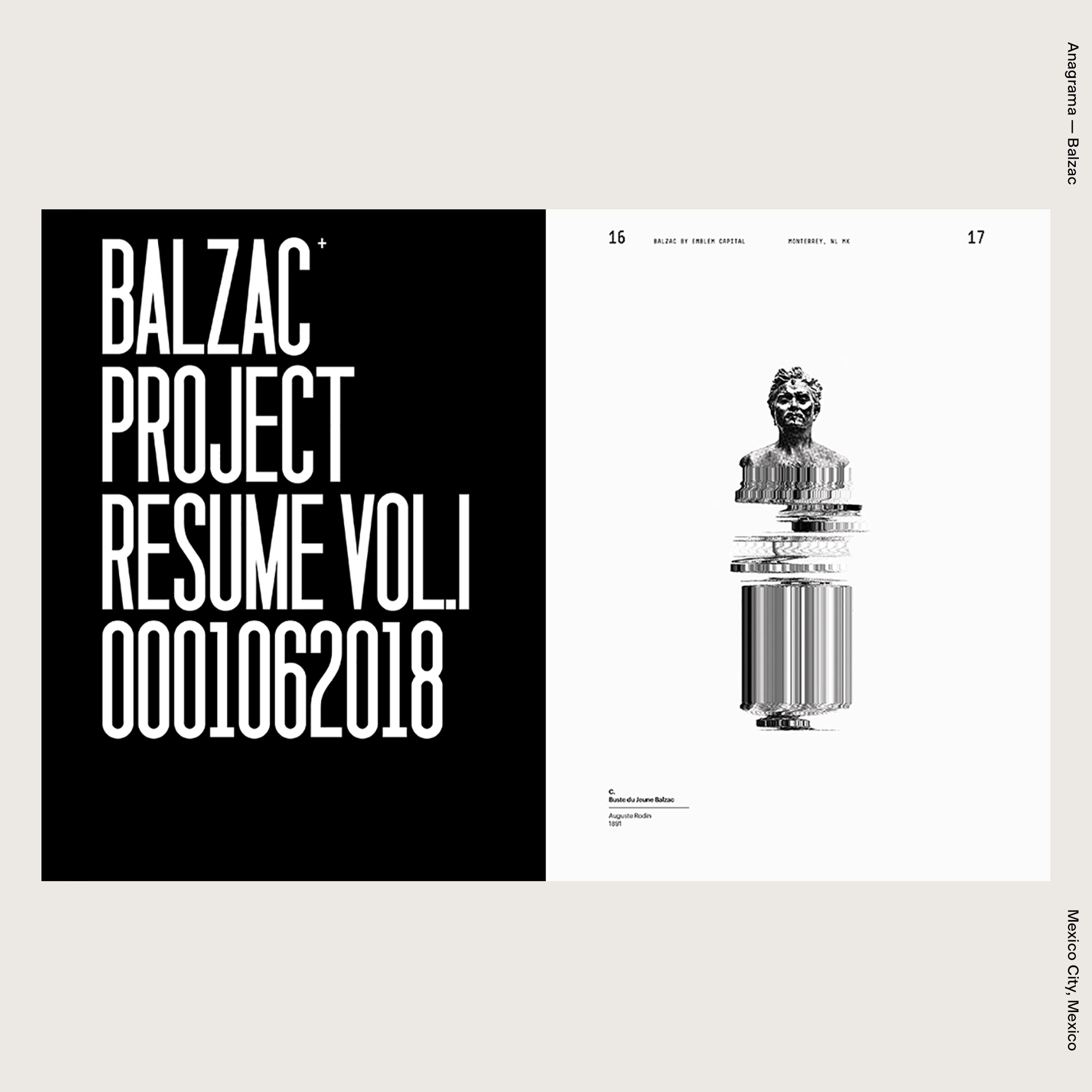 Anagrama — Balzac