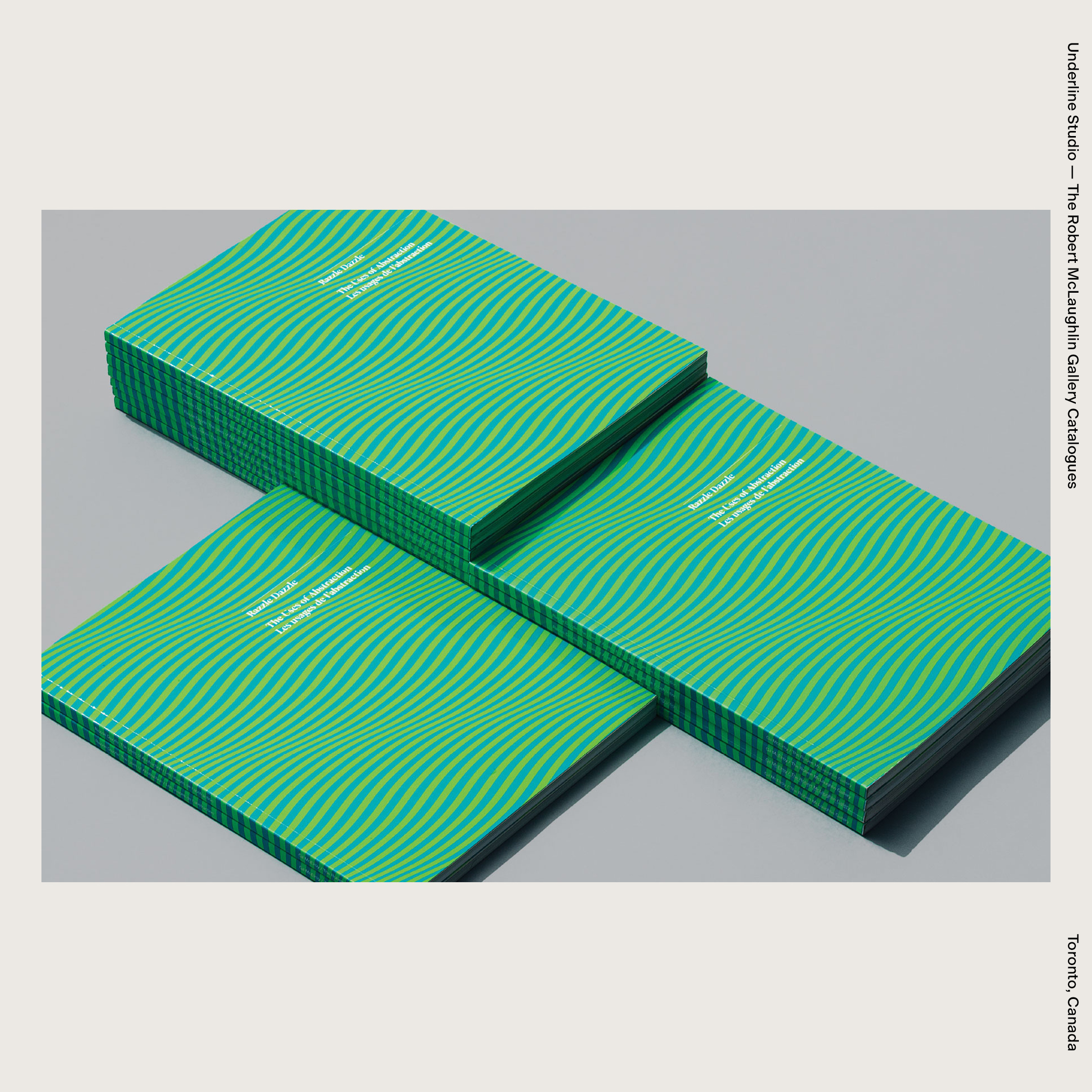 Underline Studio — The Robert McLaughlin Gallery Catalogues