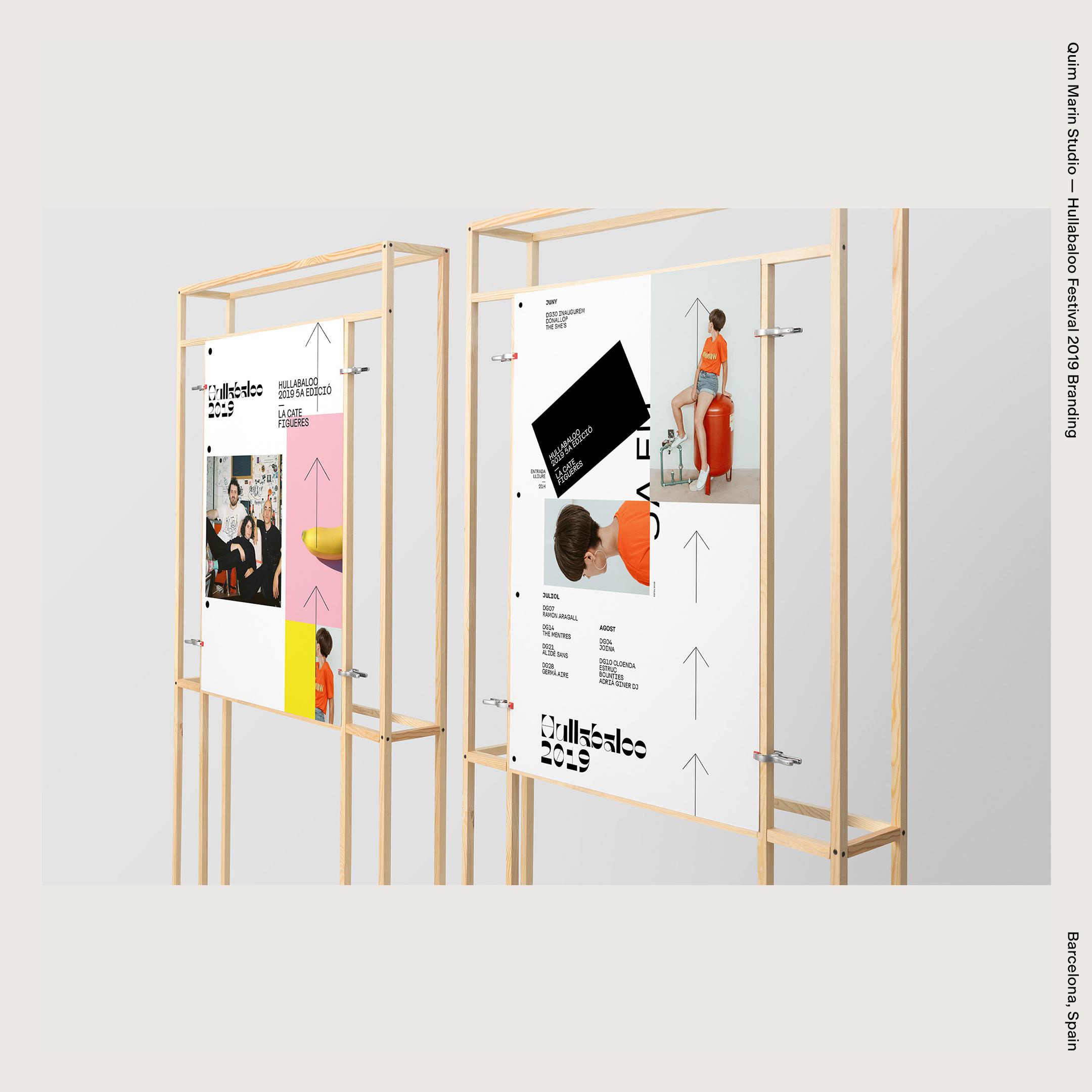Quim Marin Studio — Hullabaloo Festival 2019 Branding