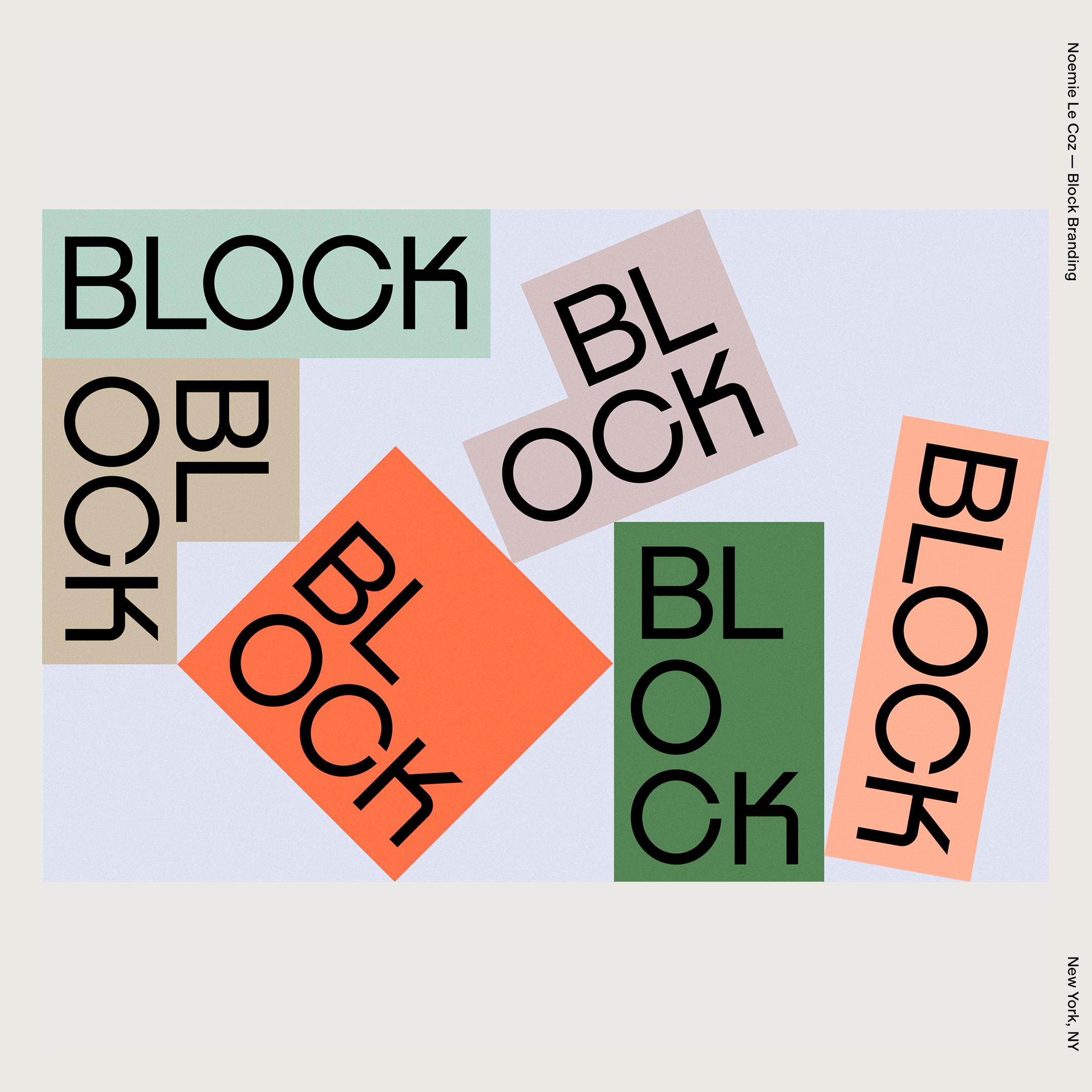 Noemie Le Coz — Block Branding