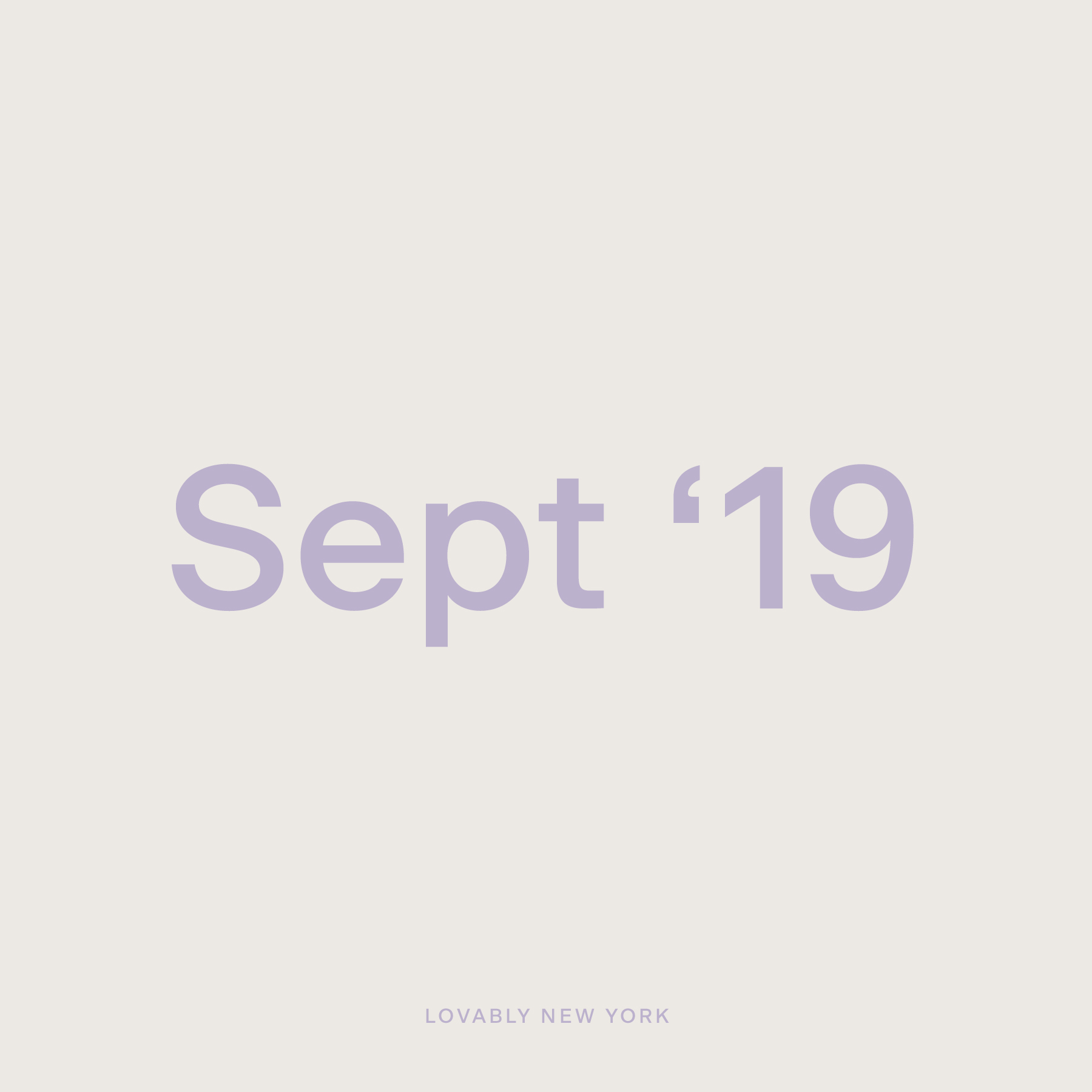 Studio Playlist — September '19