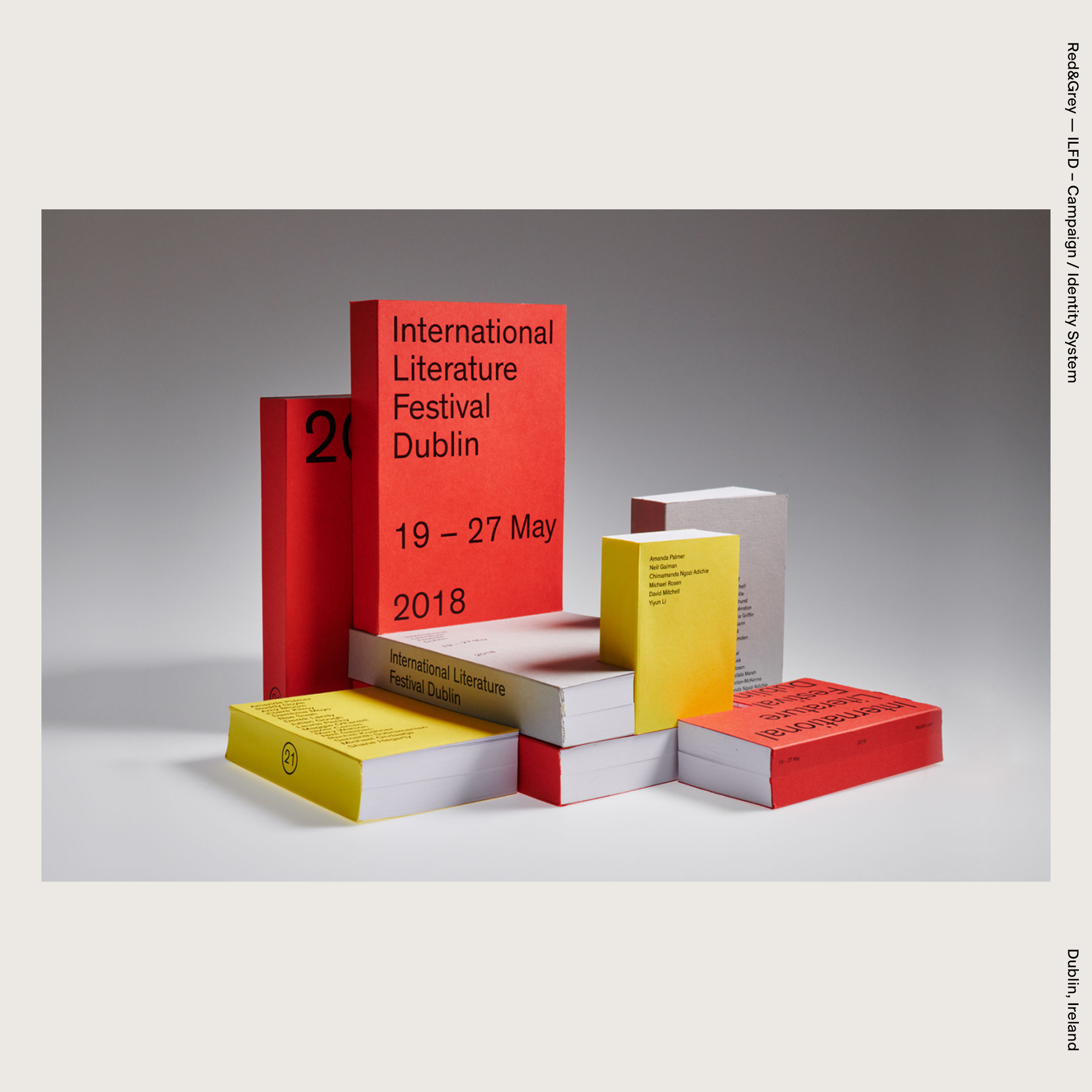 Red&Grey — ILFD – Campaign / Identity System