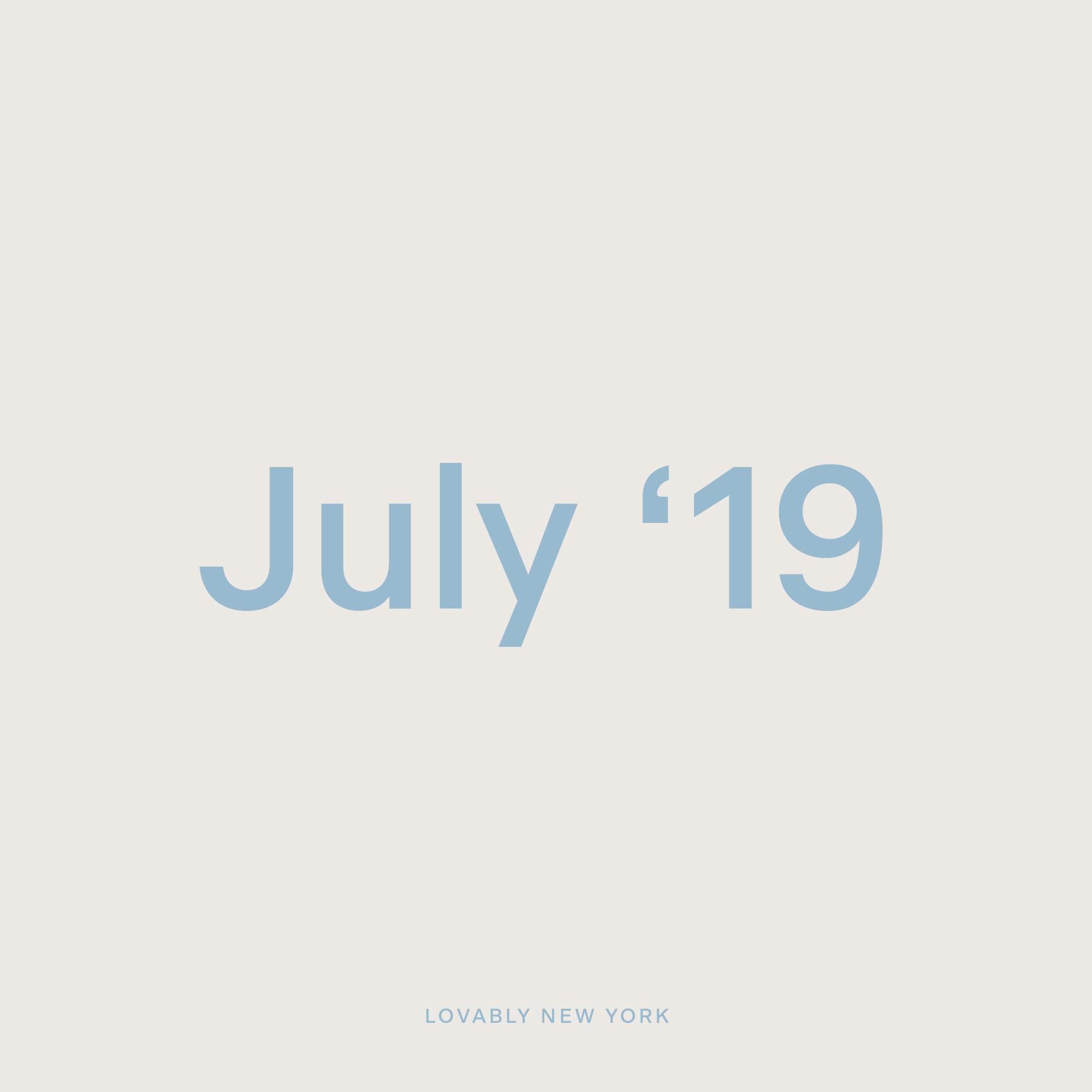 July '19