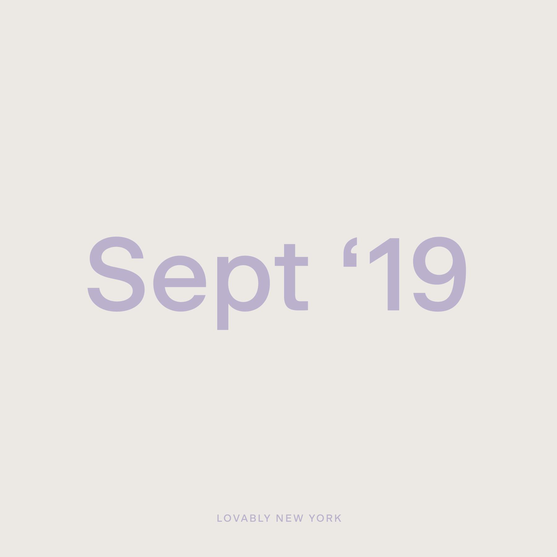 September '19