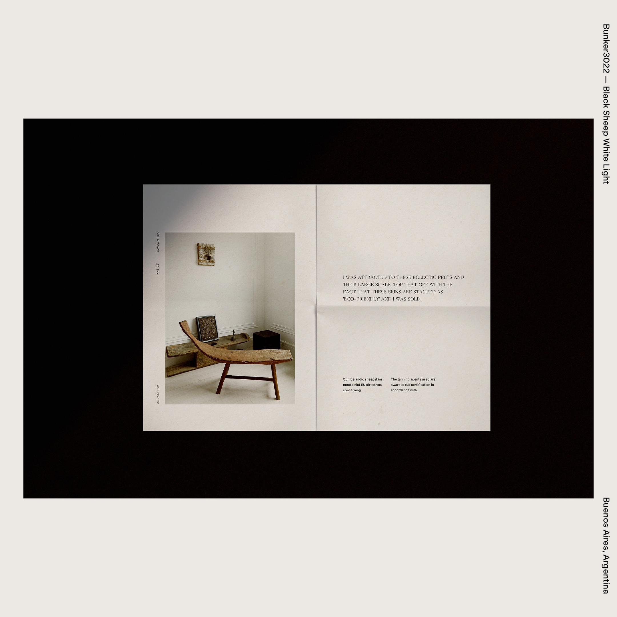 Bunker3022 — Black Sheep White Light