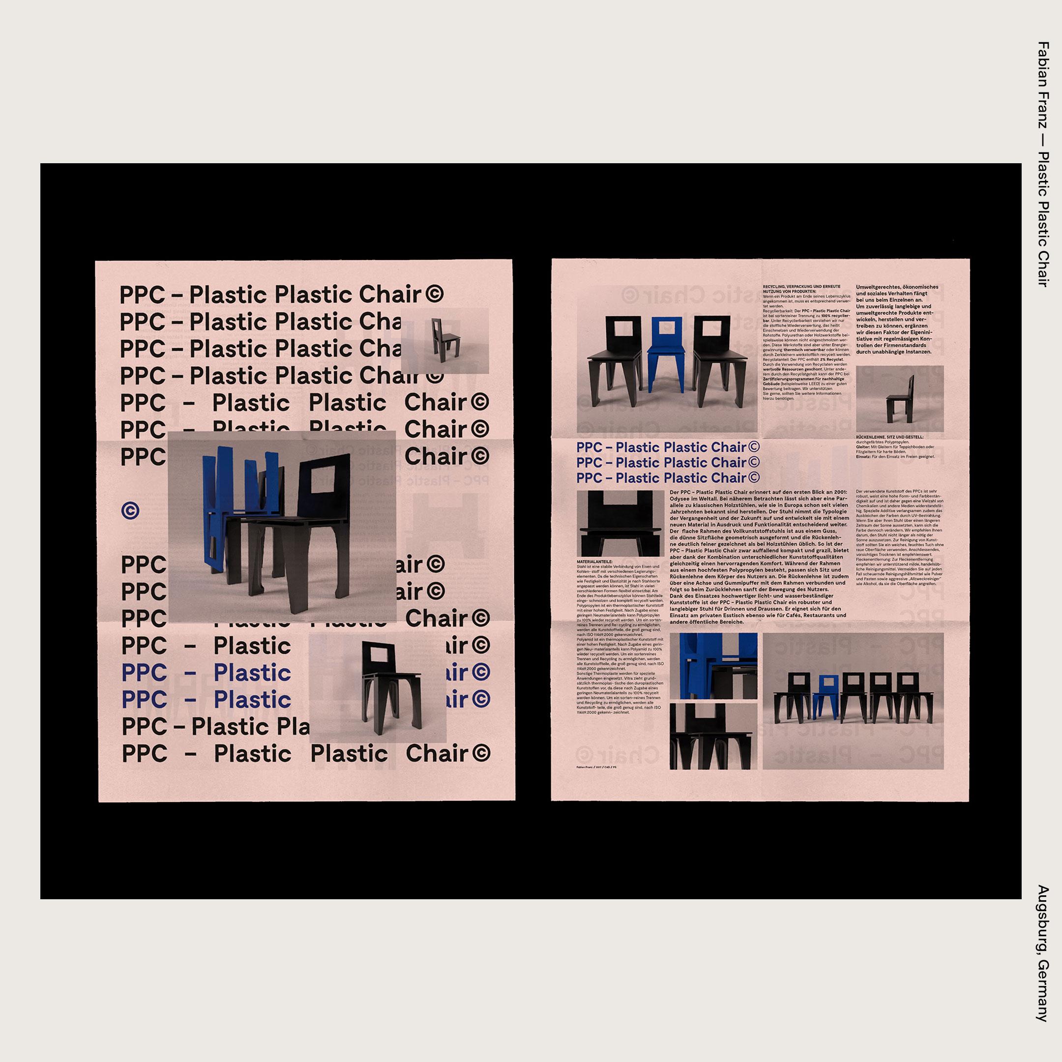 Fabian Franz — Plastic Plastic Chair