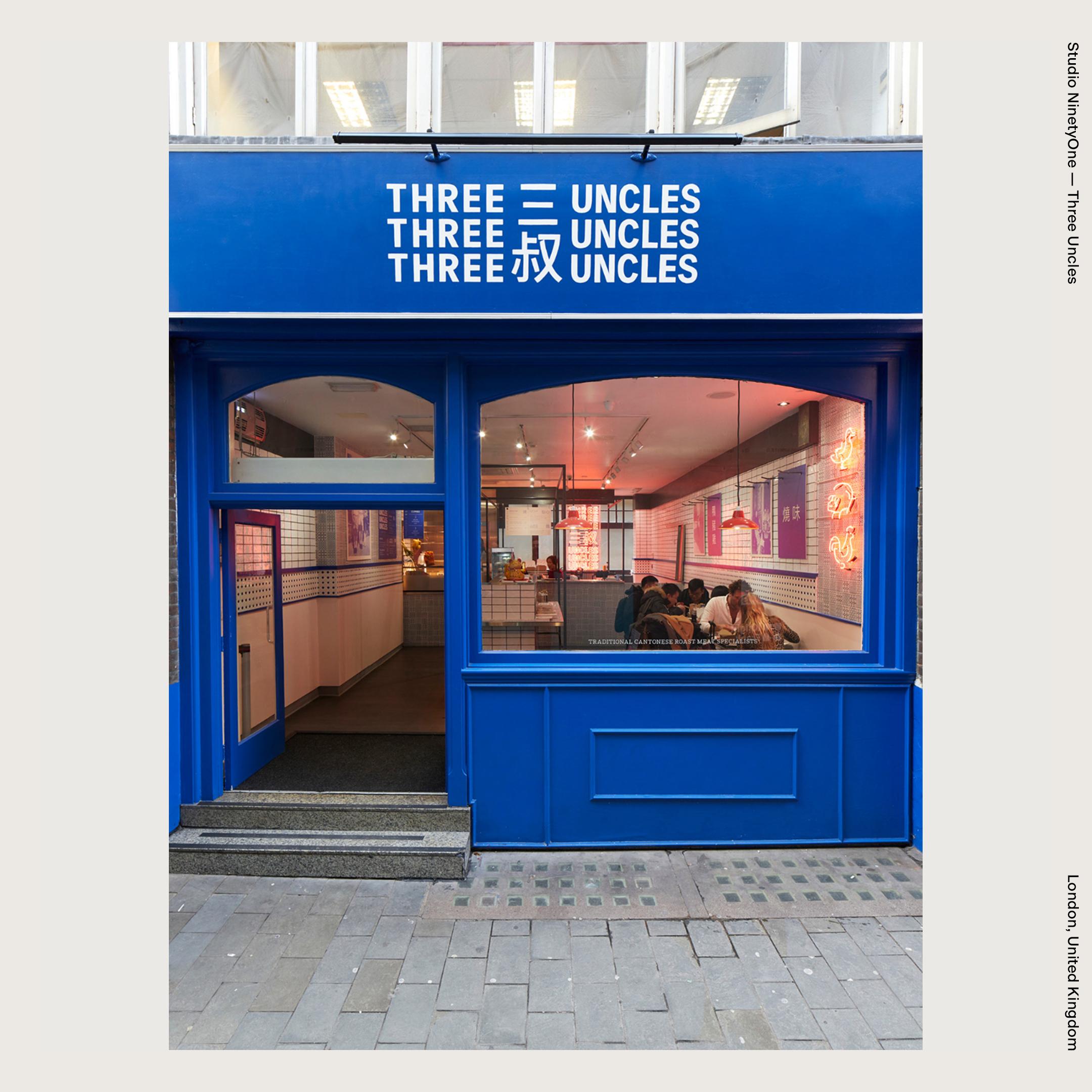Studio NinetyOne — Three Uncles