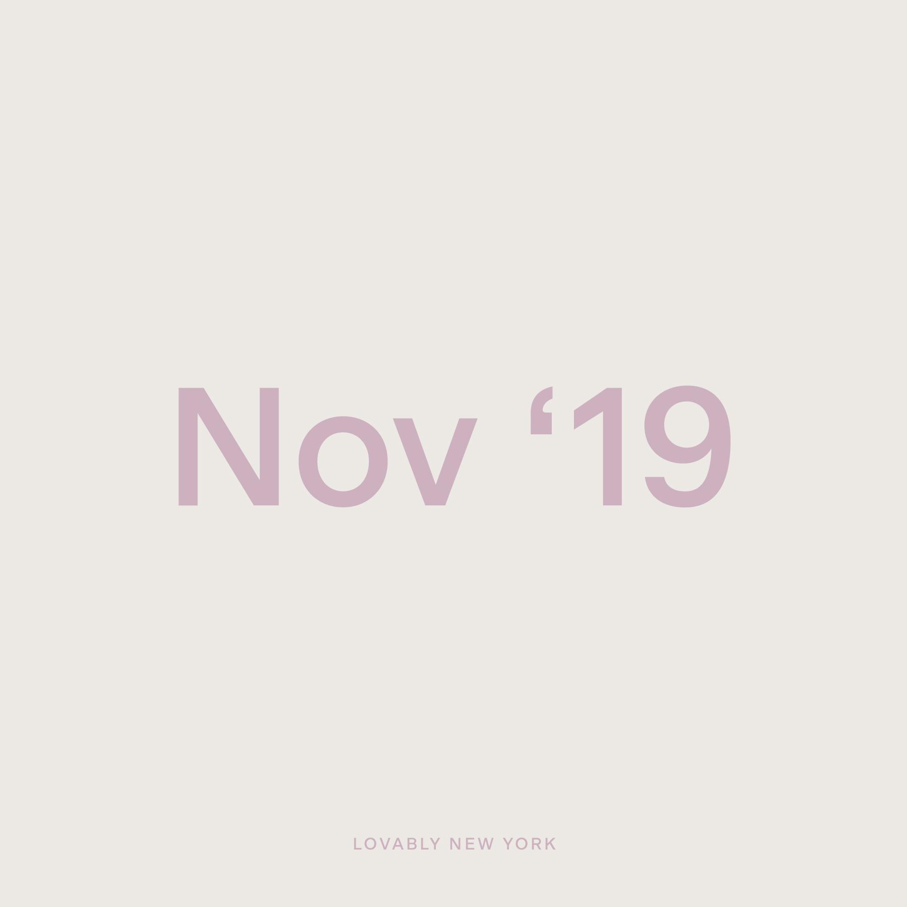 November '19